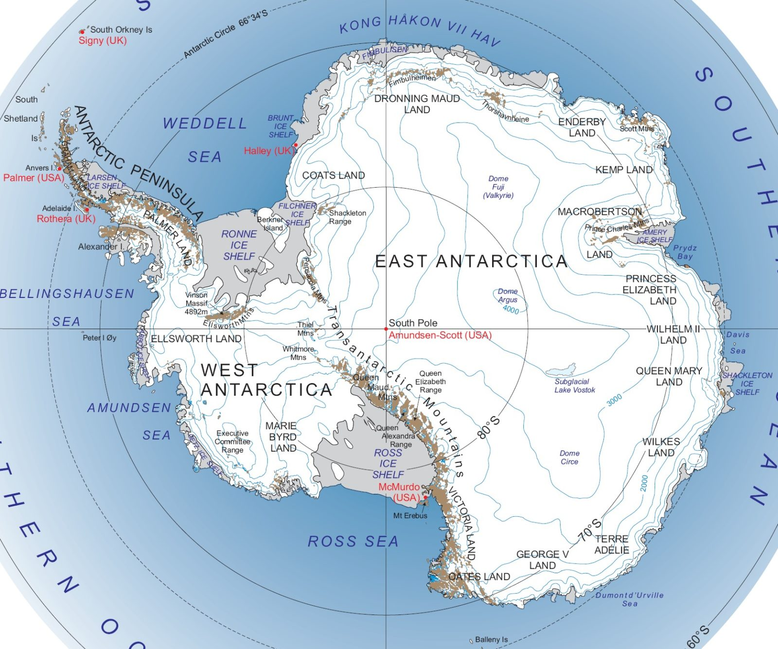 Antarctica Facts for Kids - Complete Information for School Research ...