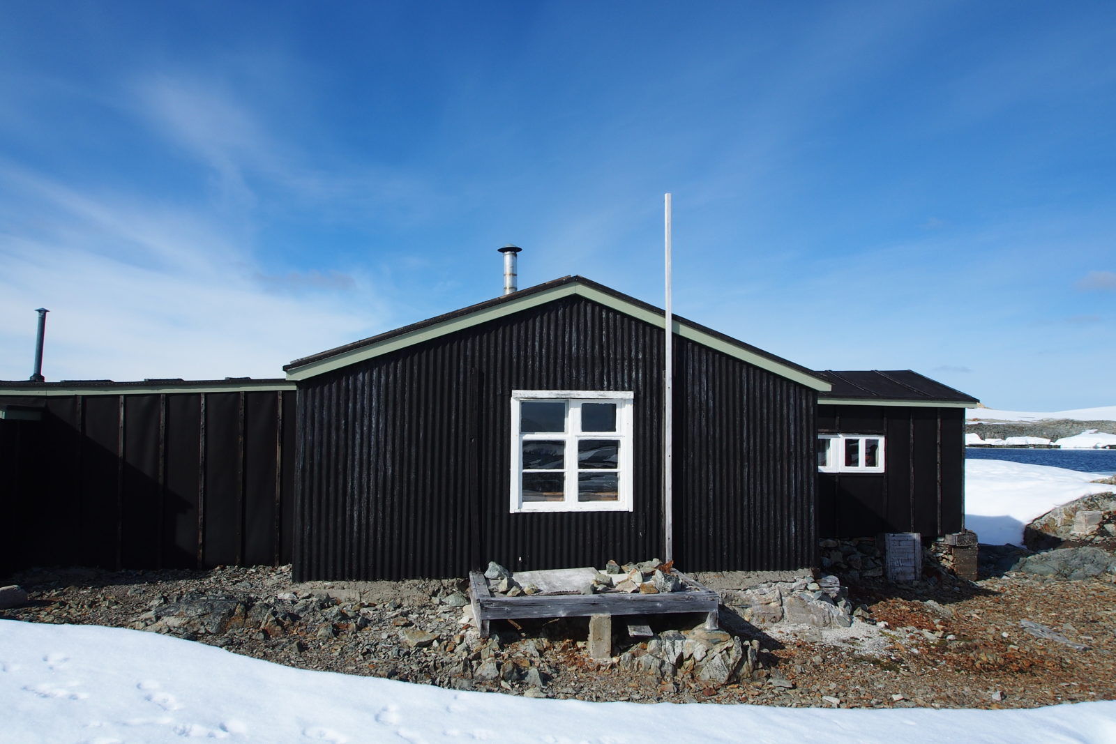 Wordie House Antarctica