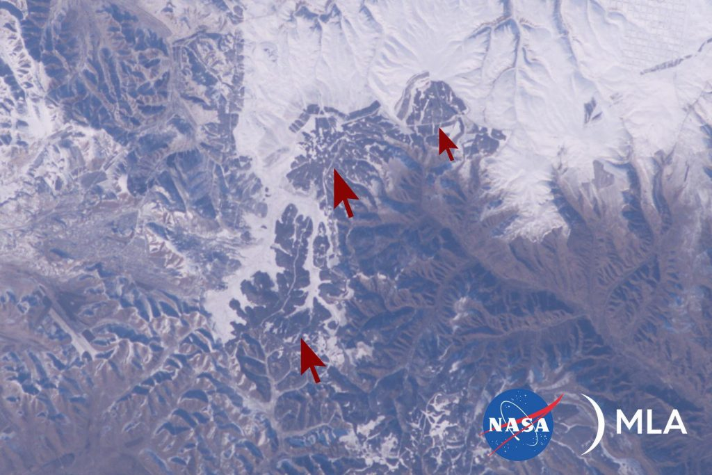 Pictures Of The Great Wall Of China From Space