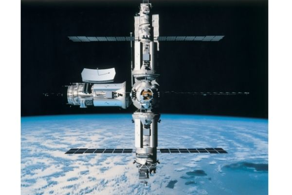 International Space Station size facts