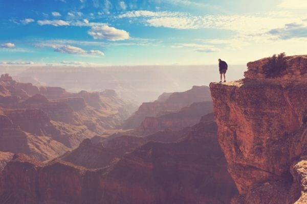 The Grand Canyon hike facts